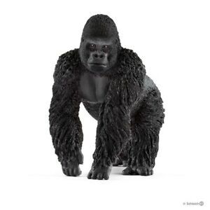Schleich 14770 Gorilla Young Male 3 7/8in Series Wild Animals