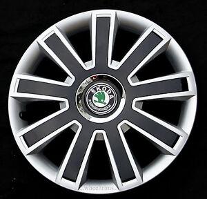 "Set of  4x 15"" wheel trims to fit  SKODA OCTAVIA,"