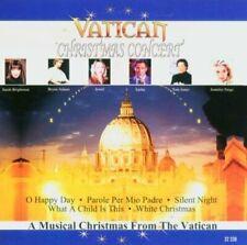 Vatican Christmas Concert Sasha, Jennifer Paige, Randy Crawford, Tom Jone.. [CD]