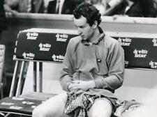 Belgium Antwerp Tennis Tournament John McEnroe Old Photo Van de Velde 1985