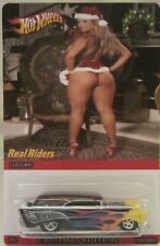 Hot Wheels CUSTOM '57 CHEVY NOMAD Happy Holidays Real Riders Limited