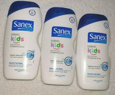 Sanex Dermo Kids Head to Toe Wash Shower Gel  500ml x3