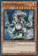 3X Cyber Dinosaur -Common -LEDD-ENB08-Yugioh Legendary Dragon Decks 1st Edition