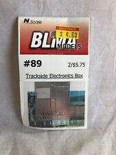 BLMA Models #89 Trackside Electronics Box N Scale