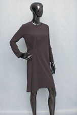 COS Grey Dress Pleated Detail On Front Size 36 UK 10