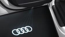 Original Audi LED Einstiegsbeleuchtung Stecker Emblem Projektion Audi Ringe
