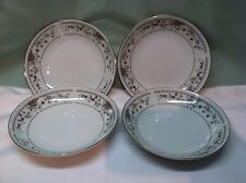 "Set 4 Claremont Wade Sone Fine Porcelain China 5 1/2"" Dessert Bowls Japan NICE"