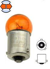 AMPOULE 12V 10W BAU15S ORANGE CLIGNOTANT RETROVISEUR VOITURE PEUGEOT FORD AUDI