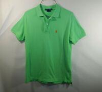 Ralph Lauren Polo Mens Short Sleeve Golf Shirt Green Size Extra Small XS