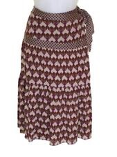 New Women's French Connection Silk Wool Wrap Around Skirt Gypsy RRP£80 Bnwt