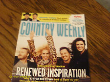 Little Big Town Covers Country Weekly Magazine September 2012