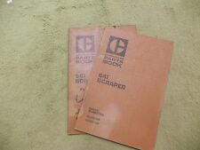 Caterpillar 641  42M1- & 43M1-  CAT Tractor Manual Service Parts Book