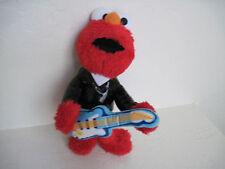 """9"""" Sesame ELMO W/ GUITAR Plush !"""