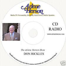 Don Rickles  Radio Interview 3 segments  15 Minutes  CD