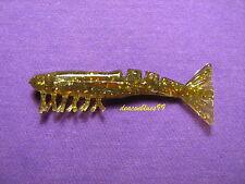 Mister Twister ES6-7BKGC Exude Shrimp  - 6 Pk - Golden Bream