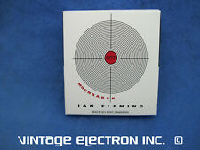 Ian Fleming - MOONRAKER (James Bond) - Audiobook (CD's Like New)