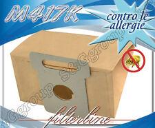 M417K 8 sacchetti filtro carta x Moulinex Power Star CN 5..
