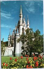 postcard Disney World - Cinderella Castle