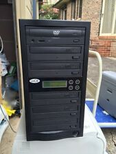 LACIE Dupli Disc DVD125 6-Bay DVD Duplicator,WARRANTY
