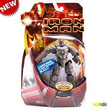 Marvel Iron Man Mark01 First Armor Suit Action Figure Launching Blast Weapon NEW
