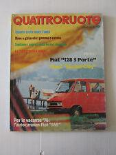 QUATTRORUOTE NOVEMBRE 1975 / ANNO XX / NUMERO 239  - LEGGI