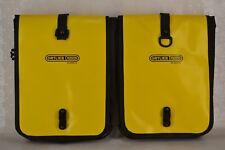 ORTLIEB FRONT ROLLER CLASSIC QL2.1 WATERPROOF PANNIER BAG (PAIR) YELLOW/BLACK