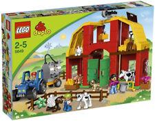 LEGO Duplo 5649 Großer Bauernhof Legosteine Set Tiere 68 Teile ab 2 Jahren NEU