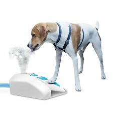 Outdoor garden water fountain dog cooler squeeze not paw operated Afp