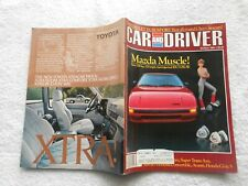 CAR AND DRIVER Magazine- MARCH,1984-MAZDA MUSCLE!,FUEL-INJECTED RX-7 GSL-SE