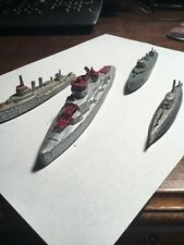 Vintage Fleet of Tootsietoy Boats