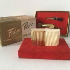 Vtg Razor Eversharp Schick Injector Womens Fashion 1940s USA Original Box Brush