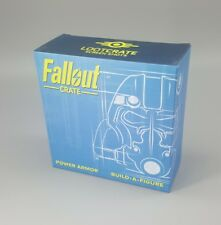 Fallout Build a Figure POWER ARMOR 1 of 6 BASE & HELMET Bethesda Loot Crate