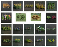 Tasma Products high quality flowers and plants for N gauge railway layouts
