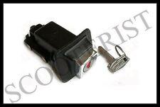 Vespa LML Seat Lock Assembly Black PX P P80-200E Lusso MY Star Stella T5 Cosa