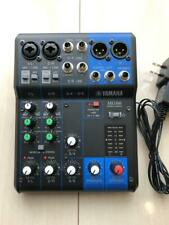 YAMAHA MG06 Analog mixer 6 channels microphone preamplifier metal chassis used