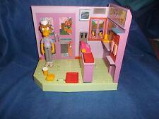 "Hasbro Intelli-Tronic ""The Simpsons"" Krusty Burger W/Pimply Faced Teen & Box"
