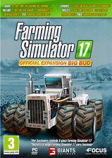 Farming Simulator 17 - Big Bud Expansion PC IT IMPORT FOCUS