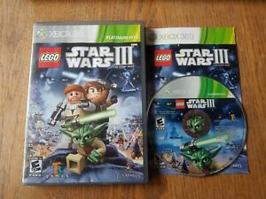 LEGO star wars 3 the clone wars xbox 360 *** NTSC NOT PAL **