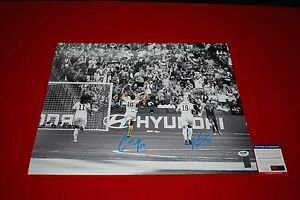 CARLI LLOYD JULIE JOHNSTON usa womens soccer signed PSA/DNA 16X20 1