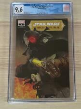 Star Wars The High Republic 3 CGC 9.6 Mike Mayhew Cover Edition A