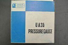 New Weksler Instruments UA35 Pressure Gauge, up to 30PSI