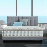 BedStory 12 inch King Mattress Gel Infused Memory Foam Mattress Pocket Coil Bed