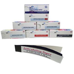 144 sheet/Box Articulating Paper Thick/Thin/X-Thin/XX-Thin