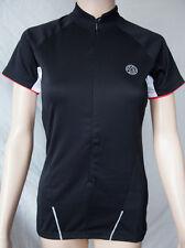 Dare 2b Women's DWT 108 Abscond Short Sleeve Black Cycling Jersey Size 8 B.N.I.B