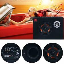 8'' 480W Under-Seat Active Car Subwoofer Audio Speaker Bass Amp Sub Box Slim 12V