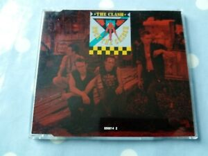 The Clash Rock The Casbah 4 Track CD