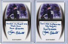 2014 Leaf Trinity Draft Scott Blewett Bronze Inscription Auto RC Royals -CWTPIBL