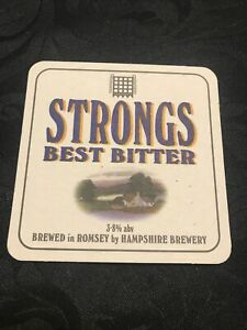Hampshire Brewery Ltd, Romsey, Hampshire, England...1999 Beer Mat