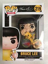 Funko Pop Jumpsuit Bruce Lee BAIT Custom Blood Signed Rudy Ramirez NYCC 2017