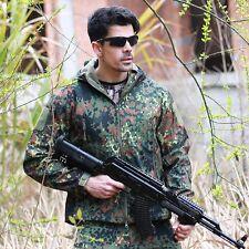 ESDY Men Soft Shell TAD SharkSkin Waterproof Tactical Jacket Hoodie Outdoor Coat